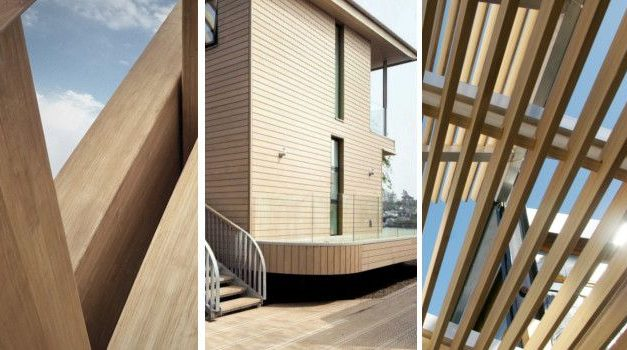 Acetylated wood for exteriors: features and advantages