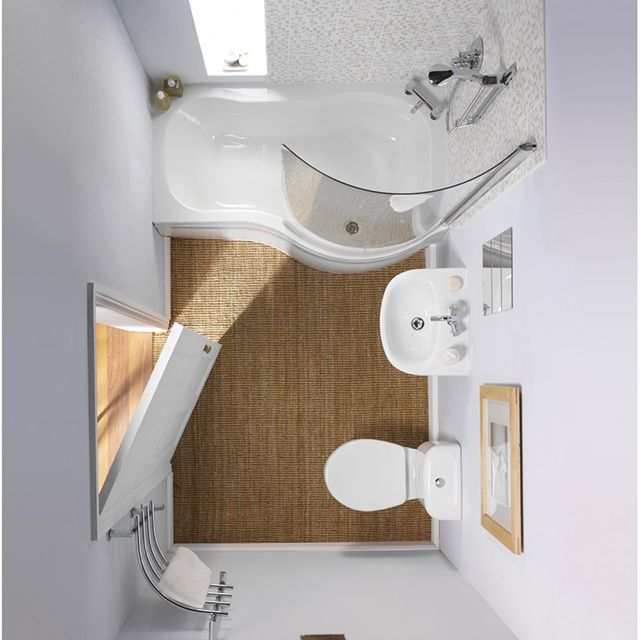 How to design a small bathroom: ideas and tips