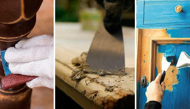 How to remove finishes: remove paint and varnish from wood