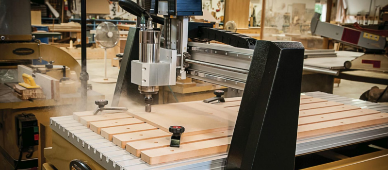 Computer Numerical Control for Wood (CNC): Definition, Types and Uses