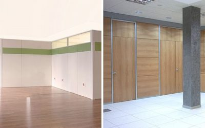 Office partitions: options and features