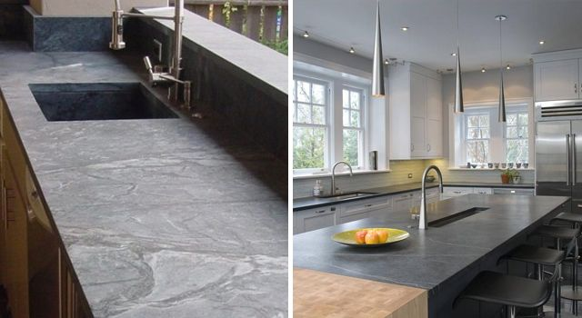 Soapstone countertops: advantages and disadvantages