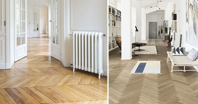 Solid wood floors: spectacular styles and examples