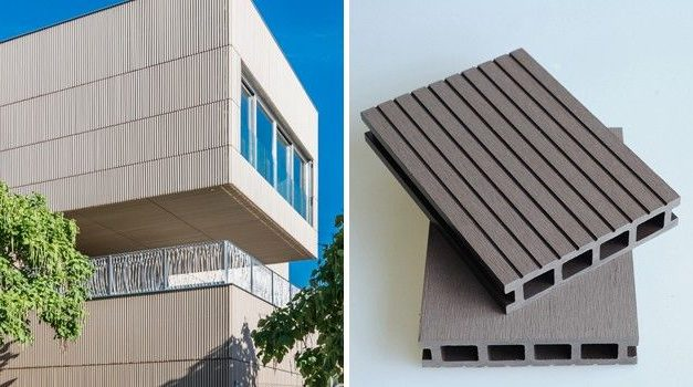 Composite cladding for facades: advantages and examples