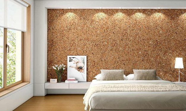 Cork wall coverings: types and characteristics