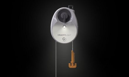 GravityLight.  How to illuminate for FREE with the force of gravity