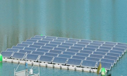 Hydrelio, floating photovoltaic solar system