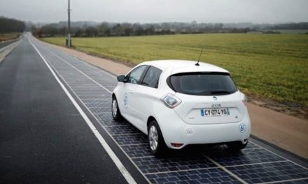 Inauguration of the world's first kilometer of solar highway