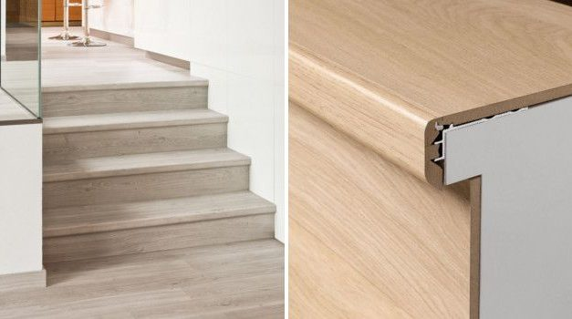 Laminate floors in stairs: Types and installation