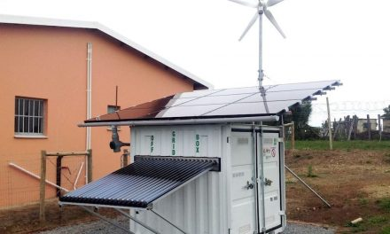 OffGridBox, an all-in-one energy and drinking water production system