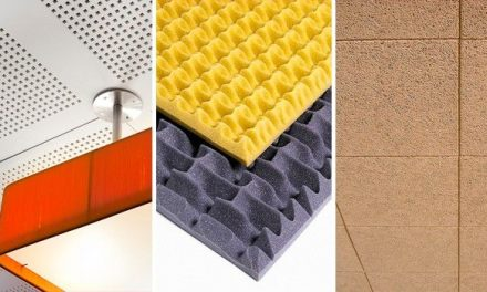 Sound-absorbing plates: materials and characteristics