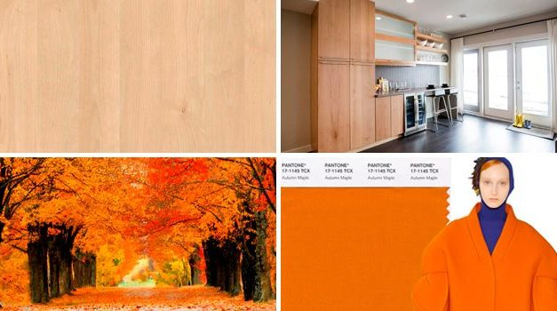 The Maple color: Fashion and Home