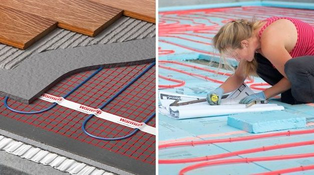 Underfloor heating and wooden decking: compatibility and limits