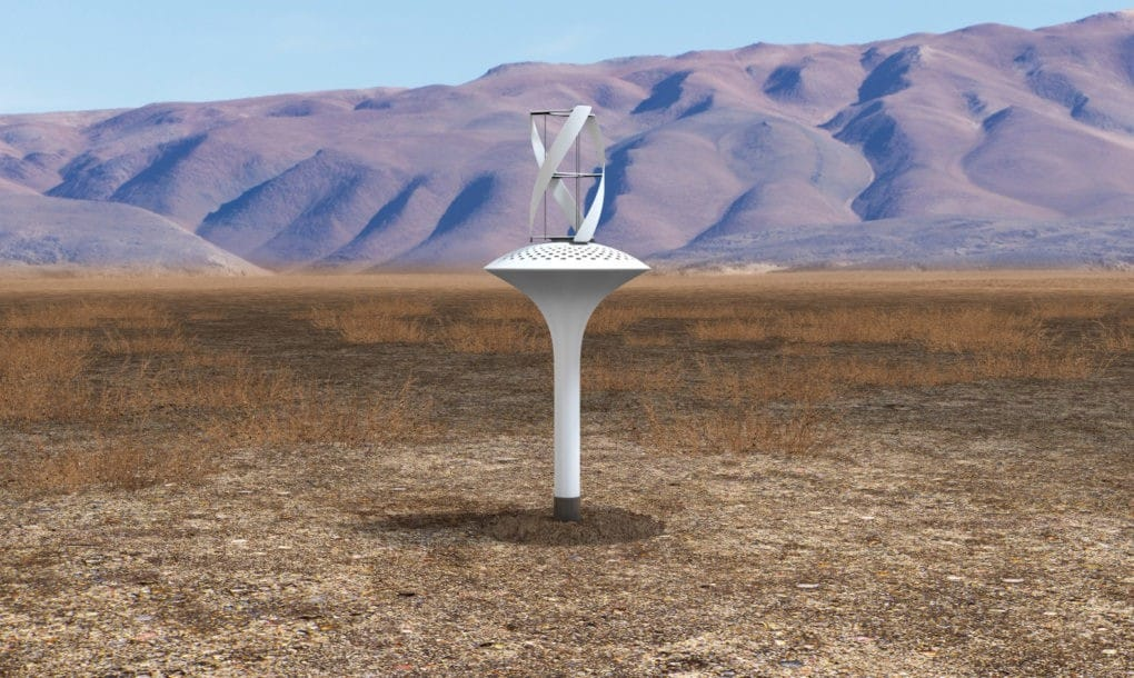 WaterSeer, get drinking water 24 hours a day thanks to wind energy