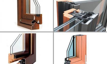 Wooden and aluminum mixed windows: types and characteristics