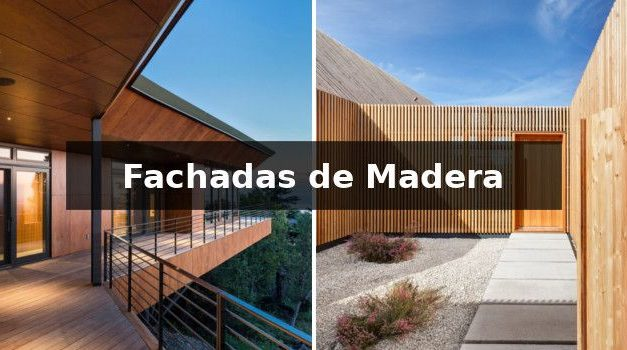 Wooden facades: characteristics, types and examples
