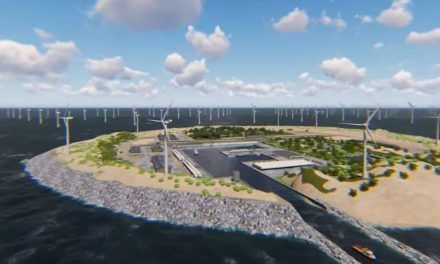 An artificial island in Europe will provide renewable energy to 80 million people.  Unbelievable!