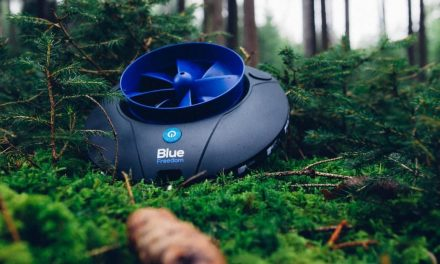 Blue freedom.  The smallest hydroelectric power station in the world