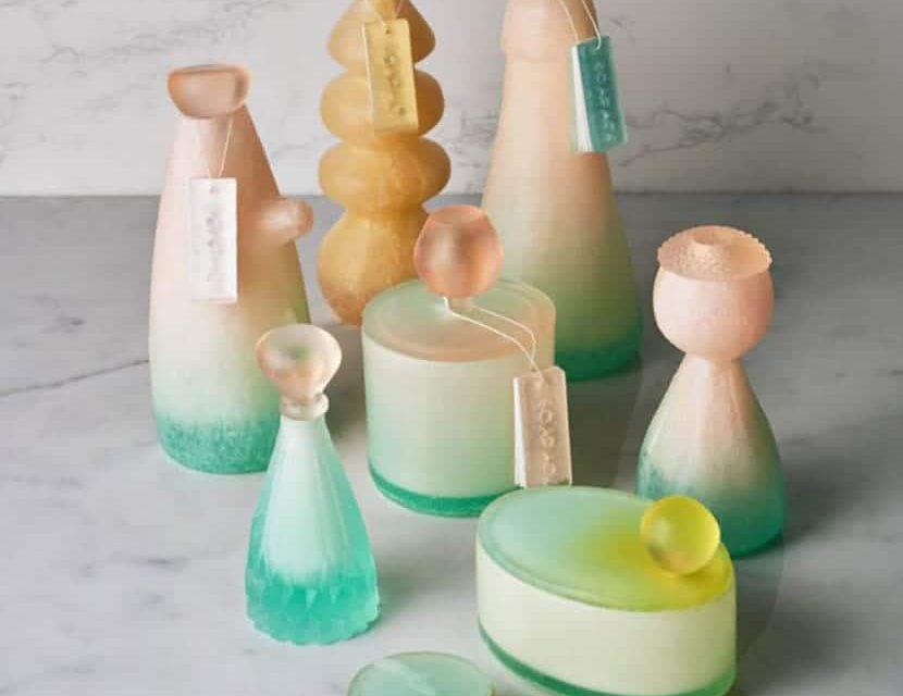 Eco-friendly packaging and bottles made from 100% soap instead of plastic