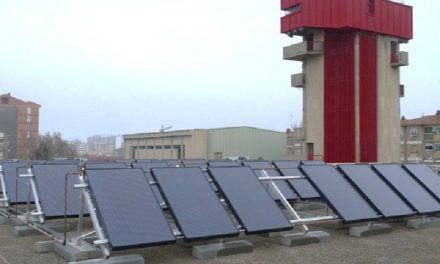 First public installation in Spain of a hybrid solar system, electricity and free hot water