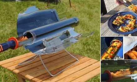 GoSun Stove.  Portable solar cooker, without electricity
