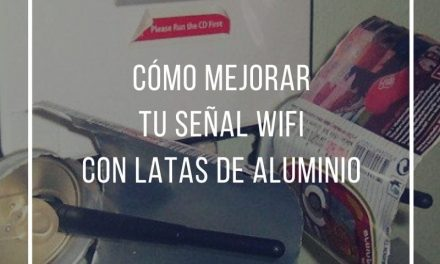 How to improve your wifi signal with aluminum cans