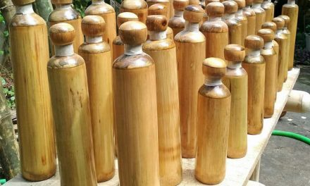 In India, they want to replace single-use plastic bottles with bamboo bottles