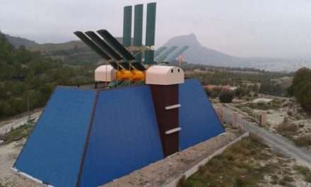 "Morcillo wind power system: a horizontal axis generator "" Made in Murcia "" capable of supplying 100 households"