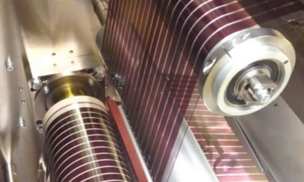 New efficiency record (7.4%) for printed organic solar cells