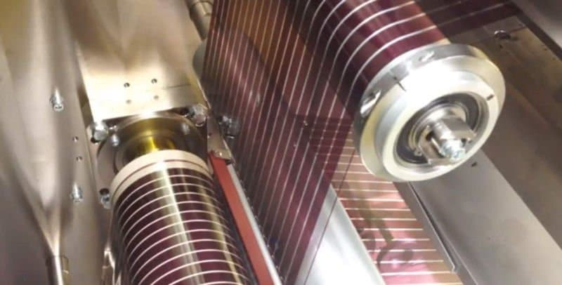 Solar cells printed on paper