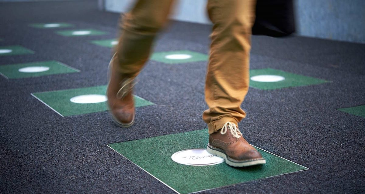 Pavegen, tiles that generate clean energy at every step