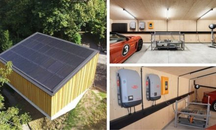 SUN2WHEEL, the autonomous solar garage for electric vehicles