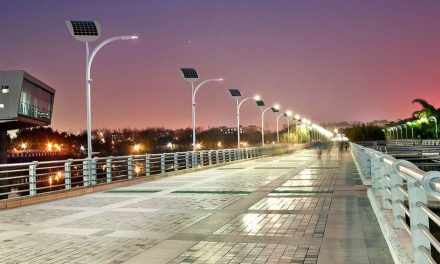 Solar power and pedestrian footsteps are what they need in Las Vegas to light their streets
