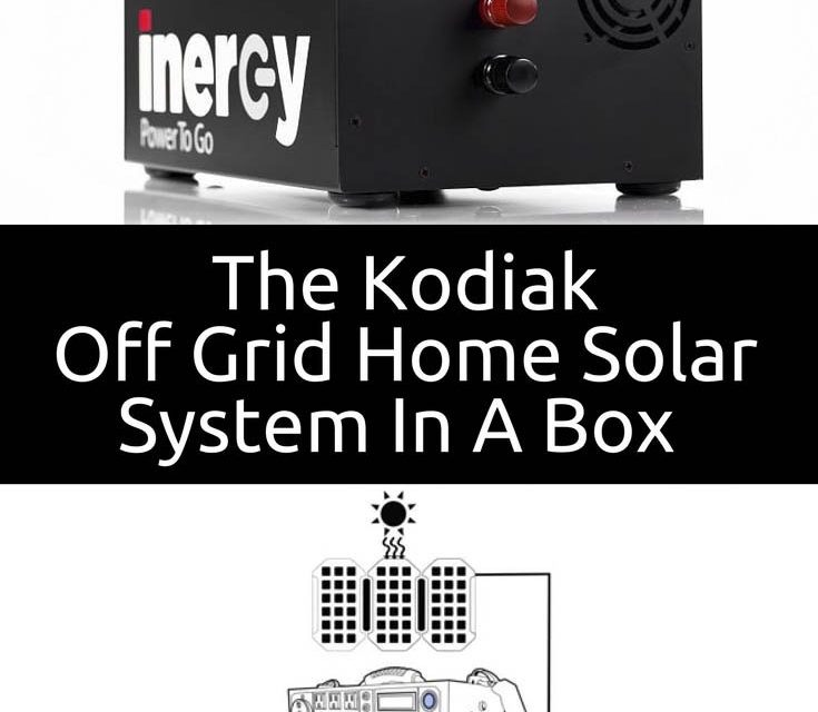 The Kodiak |  Solar powered system, hours of clean energy that fit in one box