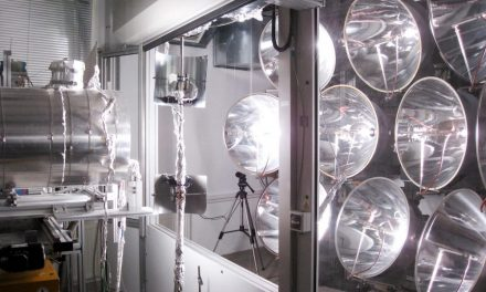 The first solar reactor for the production of hydrogen that operates even at night