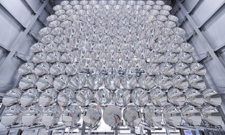 The world's largest artificial sun shines in Germany with an intensity 10,000 times greater than that of sunlight anywhere on earth