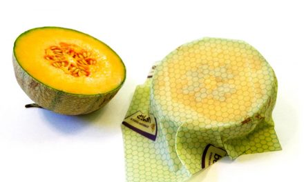 Beeswax wraps as a natural, reusable alternative to plastic wrap and foil
