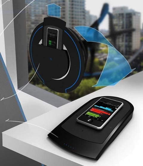 Aerio E. Wind charger for gadgets.
