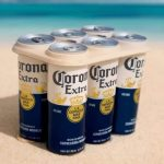 Corona is the first multinational to test plastic-free rings