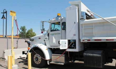 Grand Junction municipal vehicles are powered by sewage