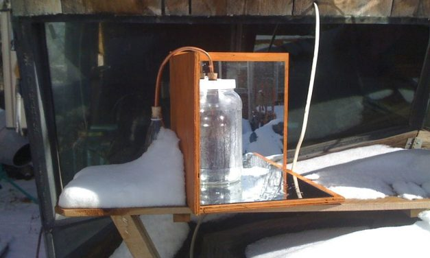 How to make your own homemade solar still with recycled materials