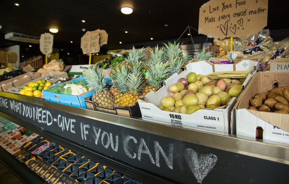 In Australia, they are opening a free supermarket with discarded or expired products