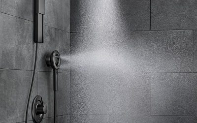 Nebia by Moen saves 50% of shower water by spraying