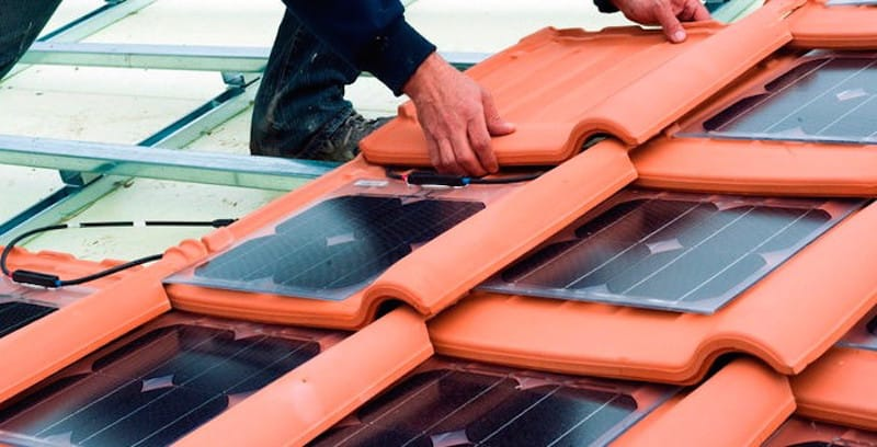 Photovoltaic solar tiles, the future of solar energy in homes
