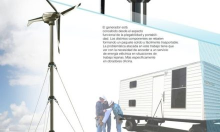 Portable wind turbine for isolated areas
