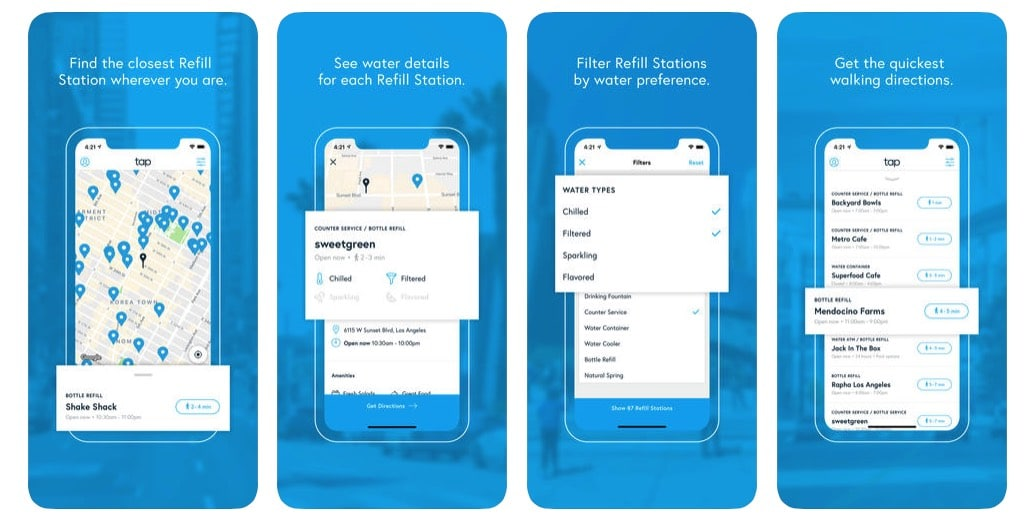 Tap – Find Water Anywhere, finds free drinking water around the world