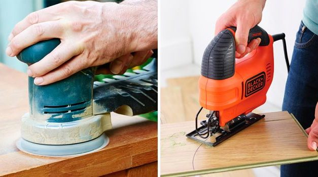 The 5 basic power tools for carpentry