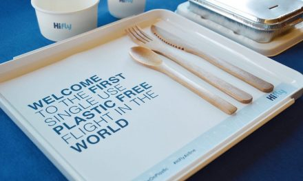 """The first historic """"plastic-free"""" flight leaves Portugal for Brazil"""