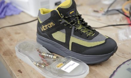 The shoes that generate energy when we walk