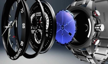 Economical driving.  The world's first watch to use green energy
